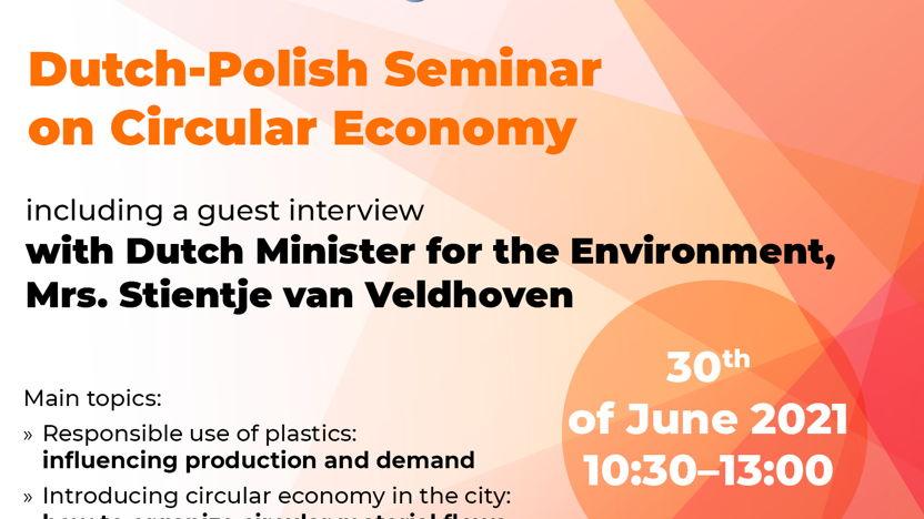 Dutch-Polish seminar on circular economy