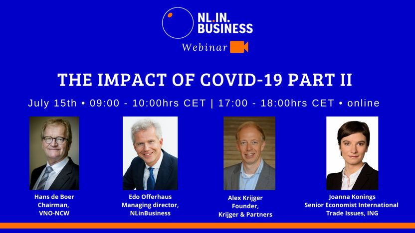 Webinar: The impact of COVID-19 part II