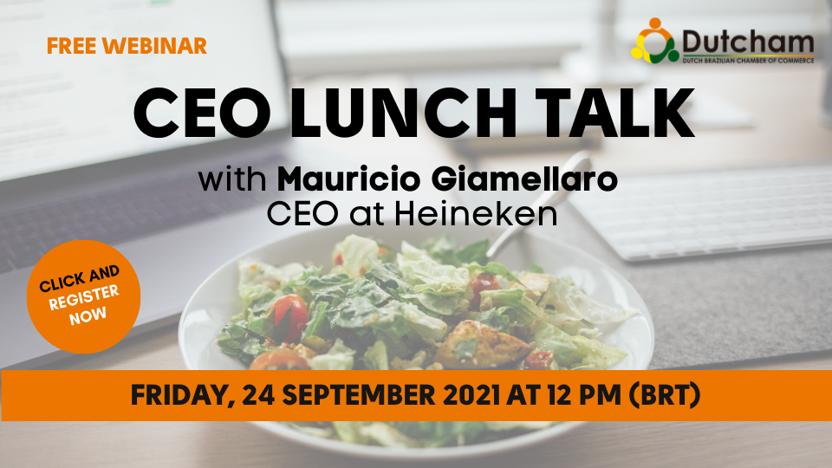 Dutcham CEO Lunch Talk with Mauricio Giamellaro (Heineken)