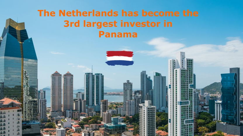 The Netherlands has become the third largest investor in Panama