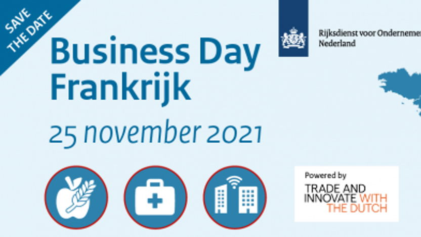 Save the date: Business Day Frankrijk 2021