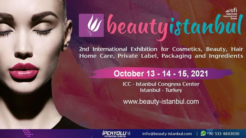 Beauty Istanbul 13-15 Oktober 2021