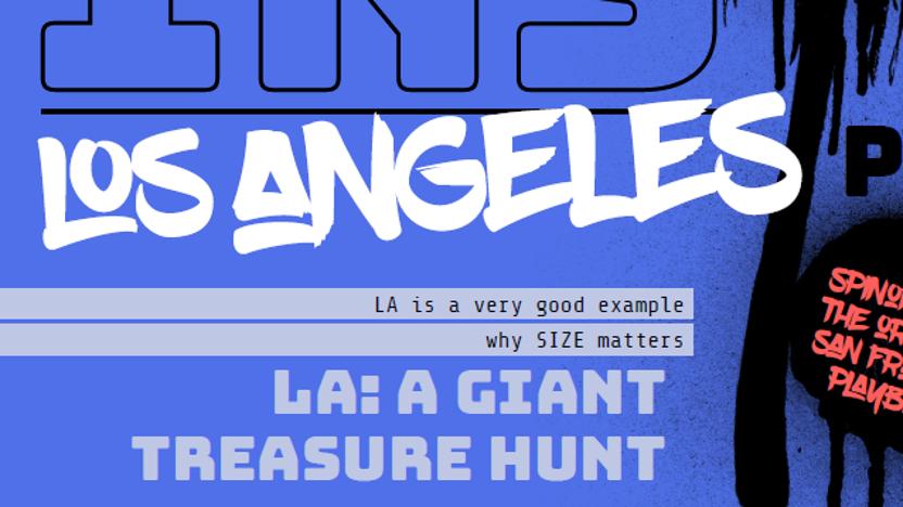 Los Angeles Playbook