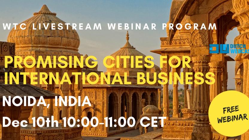 Webinar: opportunities in Noida, India