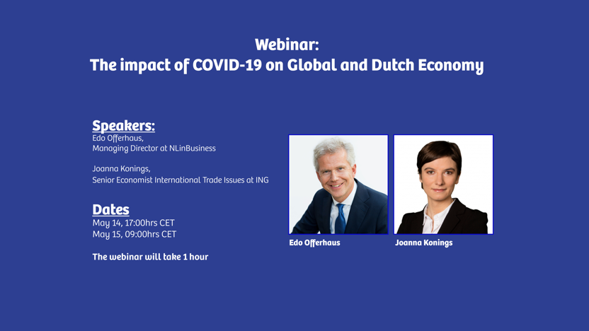 Webinar: the impact of Covid-19 on Global and Dutch economy