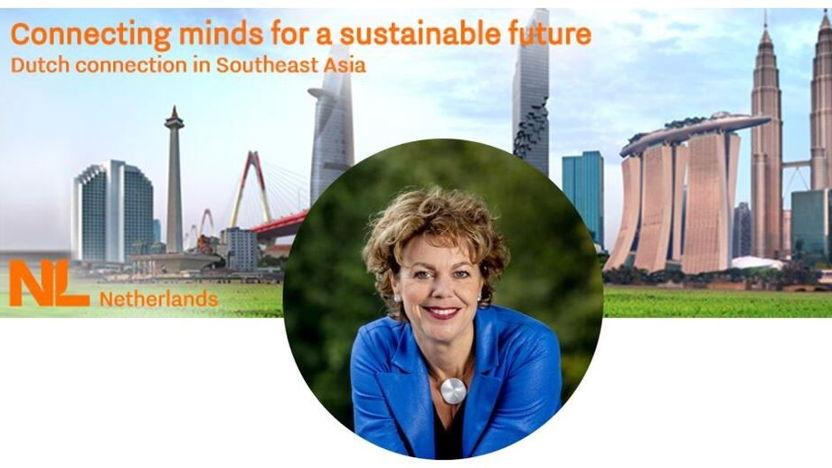 Ontmoetingssessie met Ingrid Thijssen voor Nederlandse deelnemers Handelsmissie Zuidoost-Azië