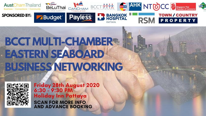 BCCT Multi-Chamber Eastern Seaboard Briefing & Business Networking