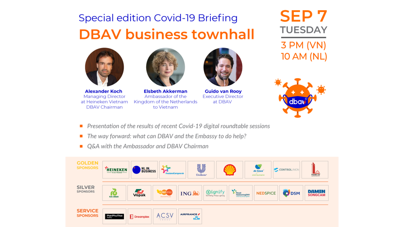 Special Covid-19 Briefing: DBAV business townhall