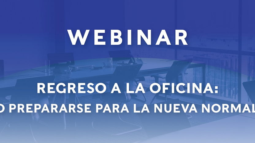 Webinar Back to the office:How to prepare for the
